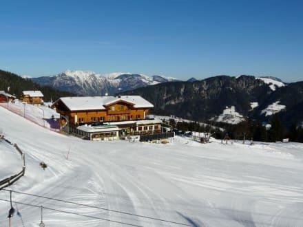 Zwischenstation - Skigebiet Schatzberg