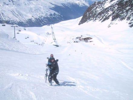 April 2005 - Skigebiet Obergurgl