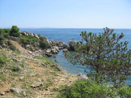 Weg zum Strand - Strand Stara Baška