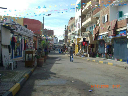 Bazar Viertel in Downtown - Zentrum Hurghada