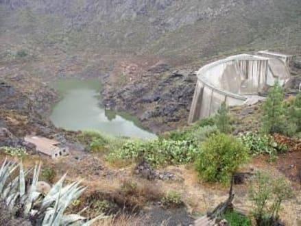 Gran Canaria - Soria-Staudamm - Soria Stausee