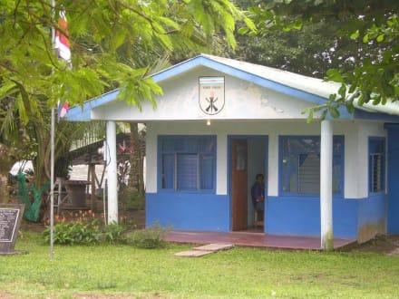 Polizeistation Tortuguero-Stadt - Nationalpark Tortuguero