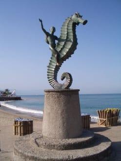 Malecon - Uferpromenade Puerto Vallarta