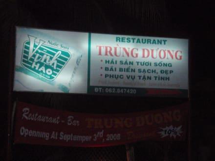 Nettes Lokal - Restaurant Trung Duong