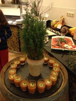 Tolle dekoration aber auch zum essen bild hartl resort for Dekoration essen
