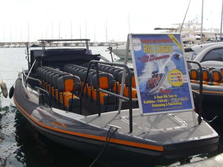 Speedboot - Hafen Rhodos
