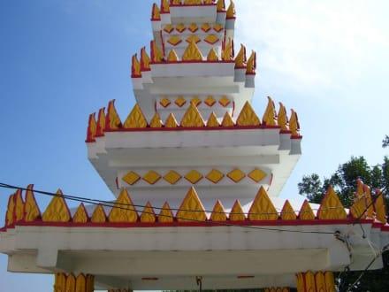 tempel - Weisser Buddha