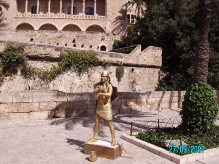 Vor dem Schloß - Königspalast L'Almudaina