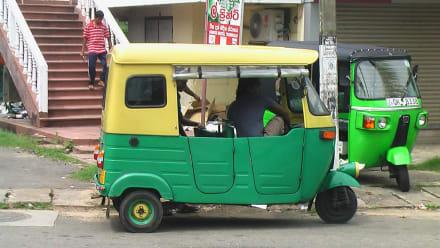Ungewöhnliches TUC TUC  - Transport