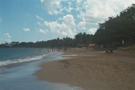 Vom Strand Blick auf das Amsha Paradise Beach Club (Casino) - Strand Playa Dorada