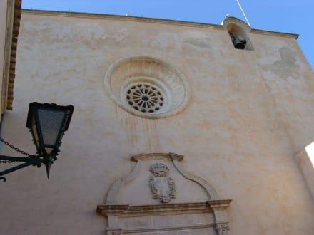 Innenhof - Puig de San Salvador