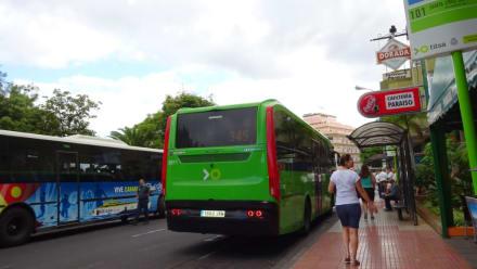 Bus Nr. 345 - Altstadt Puerto de la Cruz