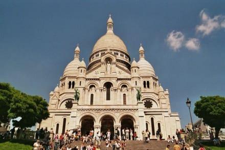 Zu Füßen der Basilique du Cacré-Coeur - Sacre Coeur