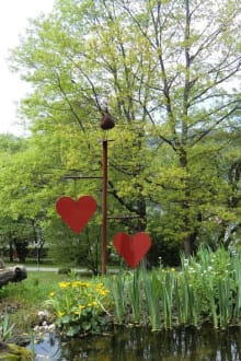 Gartenanlage - Hotel Karoli