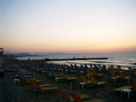 Strand von Gouves am Abend - Strand Gouves