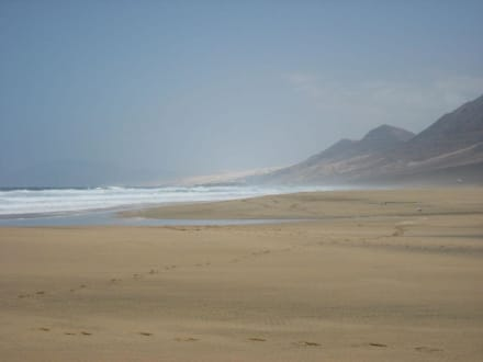 Am Strand von Cofete - Playa de Cofete