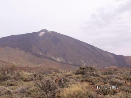 Ansicht von unten auf dem Teide - Teide Nationalpark