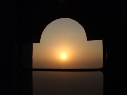 Sonnenuntergang bei Al Ain - Ausflüge & Touren