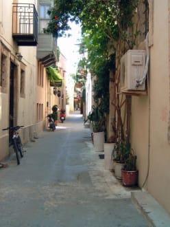 Häuser in der Altstadt Rethymnons - Altstadt Rethymno