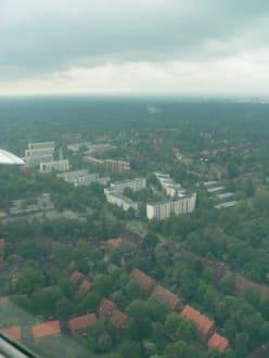 Blick auf Hamburg - Hamburg Rundflug