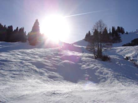 Traumhafte Pisten in Großarl - Skigebiet Großarl