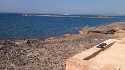 Liegestuhlaussicht - Hotel Tres Playas