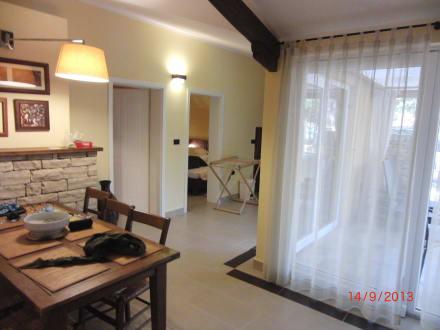 villa von innen bild melia istrian villas in umag istrien kroatien. Black Bedroom Furniture Sets. Home Design Ideas