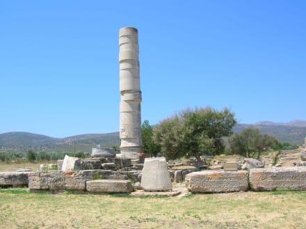 Heras Tempel bei Ireon - Hera-Tempel