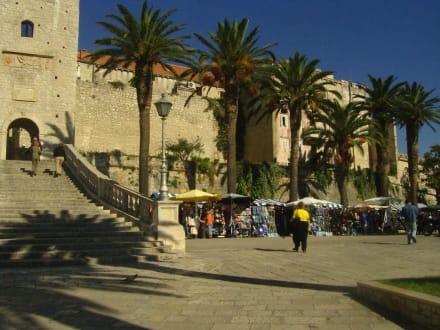 Die historische Altstadt - Altstadt Korcula