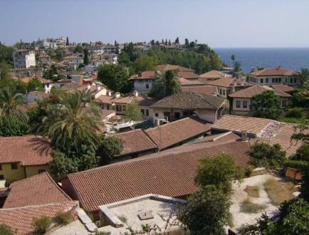 Über den Dächern von Antalya - Altstadt Antalya - Kaleici