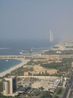 Ausblick aus dem Hotel - Dubai Marina