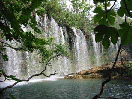 Wasserfall bei Antalya - Kursunlu Wasserfälle