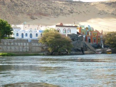 Das Nubische Dorf. - Nubisches Dorf