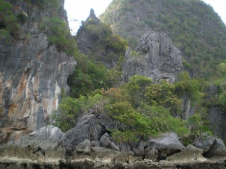 Felsenformationen - Sea Canoe Phang Nga