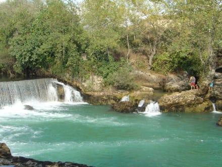 Wasserfall in Manavgat - Manavgat Wasserfälle