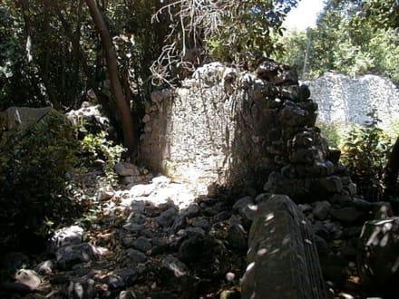 Überreste aus der Antike - Antike Stadt Olympos