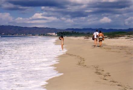 Einsamer Strand hinter Nuevo Vallarta - Nuevo Vallarta