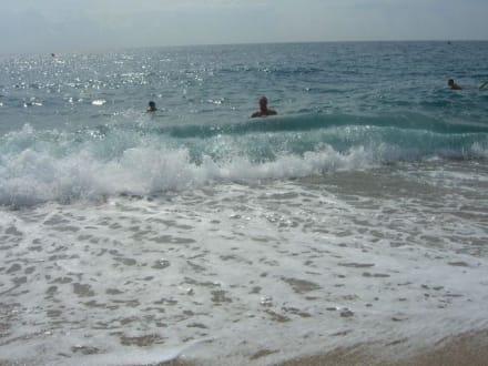 Super Wellen - Strand Calella