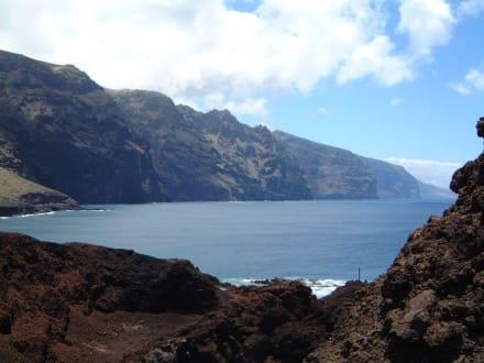 Klippen an der Westküste - Punta de Teno