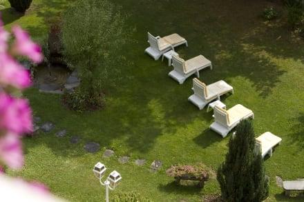 Garten - Hotel Wengener Hof