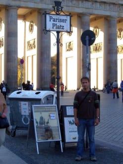Vor dem Brandenburger Tor - Pariser Platz