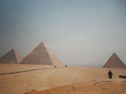 Ein sehr schöner Anblick - Pyramiden von Gizeh