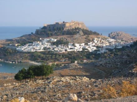 Lindos - Akropolis von Lindos