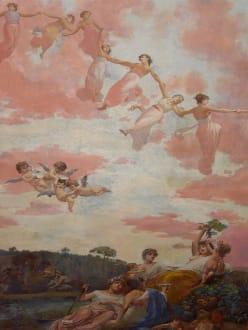 Deckenmalerei im Achillion - Schloss Achilleion