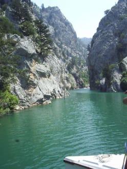 "Ausflug ""Green Canyon"" - Oymapinar Baraji/ Stausee Green Lake & Green Canyon"