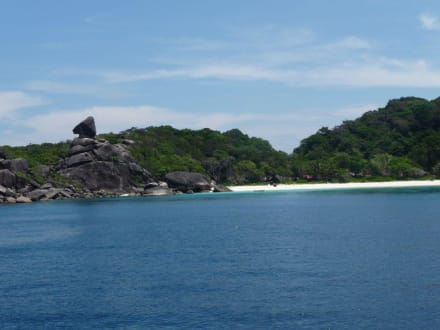 Strand auf Similan Insel Nr? - Similan Islands