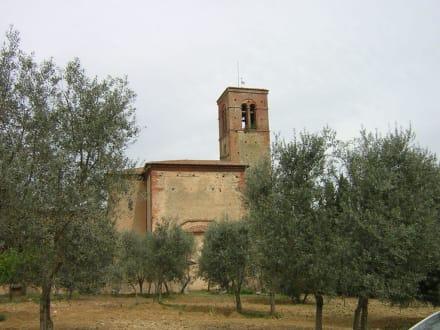 Aussenansicht der Kirche - Sant Anna
