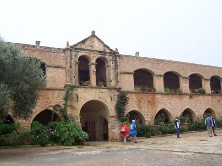 Eingang des Klosters - Kloster Moni Arkadi