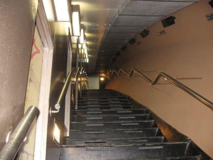 "Zugang zu den ""Train""-Kabinen - Gateway Arch"