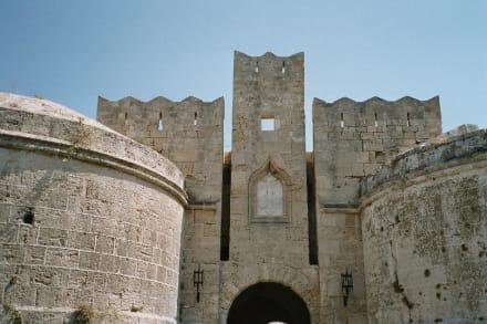 Rhodos - Großmeisterpalast